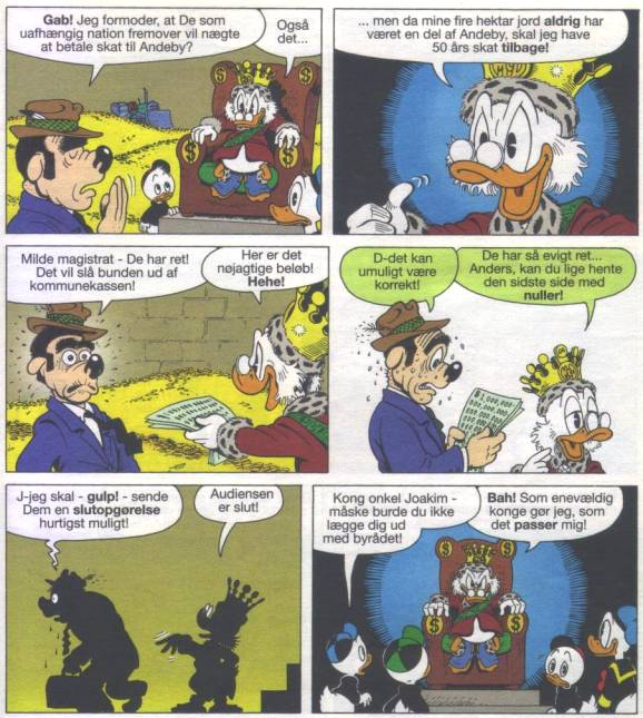 Kilde: Don Rosa (1989) USA 14; AA 29/2004